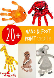 hand and foot painting ideas for es 10