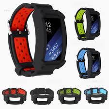 Giá bán Dây Đeo Silicon Cho Đồng Hồ Thông Minh Samsung Gear Fit 2 / Pro
