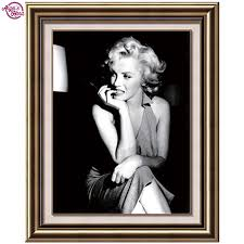 Free Marilyn Monroe Embroidery Designs Us 4 53 10 Off Needlework Diy Diamond Embroidery Marilyn Monroe Diy 5d Diamond Painting Cross Stitch Square Rhinestone Picture Home Paintings In