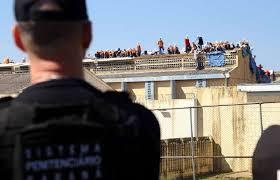 Resultado de imagem para Agentes penitenciários controlaram motim na Penitenciária de Alcaçuz na noite dessa quinta
