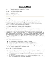 Sample Internal Memo internal memorandum example Ninjaturtletechrepairsco 1