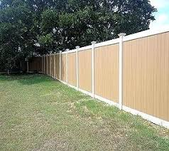 Vinyl privacy fence colors Blue Vinyl Outdoor Vinyl Fence Vinyl Privacy Fence Fences This Vinyl Privacy Fence Color Is Called Natural Cedar Sahleninfo Outdoor Vinyl Fence Vinyl Privacy Fence Fences This Vinyl Privacy