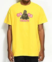 Creat A Shirt Create Gahzirra Yellow T Shirt Zumiez
