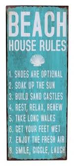 beach wall art decor white words rules sign shoes are optical soak up the sun build on house rules wooden wall art with wall art best sample ideas beach wall art decor beach wall art for