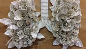 Recycled Flower Paper Recycled Art Contests