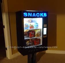 Homemade Candy Vending Machine Inspiration Awesome DIY Vending Machine Costume