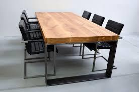 Sessel Industrial Style Esstisch Im Industrial Style Eiche Massiv