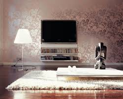 Modern Wallpaper Designs For Living Room Metallic Wallpaper For Dimension And Shimmer