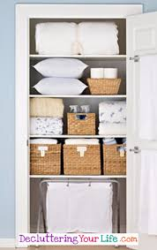 diy tips ideas and pictures to declutter and organize your linen closets