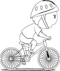 Small Picture Bike Coloring Page For Bicycle Pages glumme