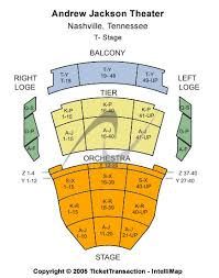 Tpac Andrew Jackson Seating Chart Tennessee Performing Arts Center Andrew Jackson Hall