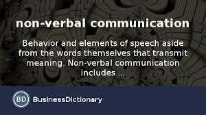 What Is Non Verbal Communication Definition And Meaning