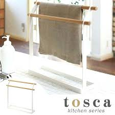towel stand wood. Towel Hanger Stand Cloth Wood Hanging Kitchen Storage The . T