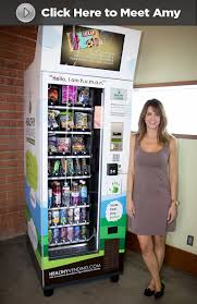 High Tech Food Vending Machines