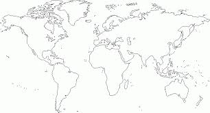 World Map Coloring Activity Coloring Pages Coloring Home