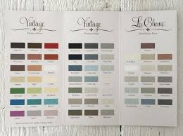what color to paint furniture. Vintage Furniture Paint Color Chart - Maison Blanche Company What To