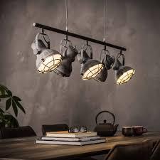 Industriële Hanglamp De Industriële Hanglamp Hudson 5lichts Metaal