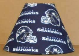 lamp shades design lamp shades seattle seahawks fabric lamps shade sports nfl football handmade desk
