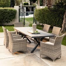 rustic rattan outdoor furniture