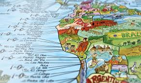 great gift ideas for surfers the awesome maps surf trip map will look good on