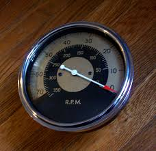 deadly curves one offs 5 the reverse stewart warner tachometer 1950 stewart warner tachometer reverse read