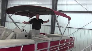 how to operate a pontoon bimini top from ameritex fabric systems