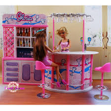 barbie doll house furniture sets. Miniature Furniture Happy Hour Relax Time For Barbie Doll House Pretend Play Toys Girl Free Shipping-in Houses From \u0026 Hobbies On Sets T