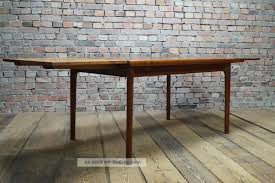 Danish Modern Teak Esstisch Tisch Dining Table Denmark Vejle Stole