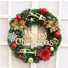 Christmas Decorations For The Wall Popular Christmas Doors Decorations Buy Cheap Christmas Doors
