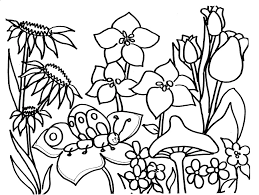 Small Picture Spring season 23 Nature Printable coloring pages