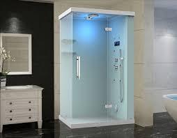 steam shower. ZA228 Windemere Frameless Glass Rectangular Steam Shower With 6 Body Jets