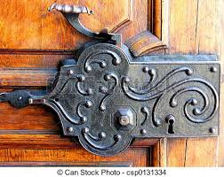 antique lock csp0131334