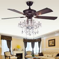 warehouse of tiffany havorand 52 inch 5 blade ceiling fan with intended for attractive home ceiling fan with crystal chandelier prepare jpg