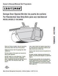 1 hp garage door openerGarage door opener manual  TigerForce  Brands opener