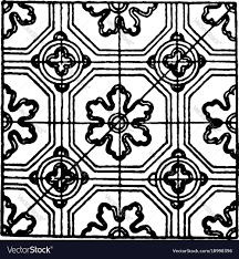 Medieval Design Patterns Medieval Enamel Pattern Is A Ceramic Decal