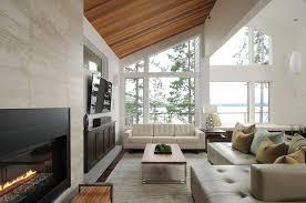 home decorating living room contemporary. attic living room in a lake house home decorating contemporary