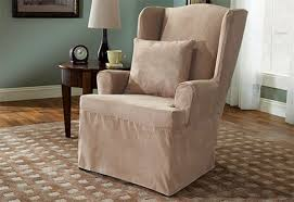 chair custom slipcover for wingback chair of slipcover for wingback chair