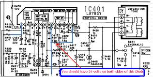 sony color tv circuit diagram sony image wiring electronics repair made easy 2011 on sony color tv circuit diagram