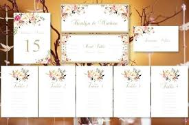 Wedding Seating Chart Cards Template Table Number Cards For Wedding Grainsdor Com