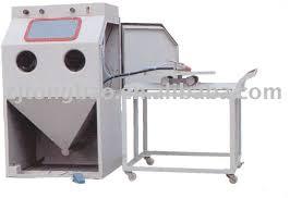 Abrasive Blasting Cabinet Turntable Sand Blasting Cabinet Turntable Sand Blasting Cabinet