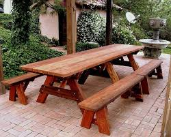 top 25 best wooden picnic tables ideas on kids wooden for wood picnic table with
