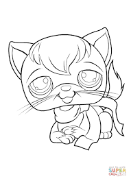 Small Picture Littlest Pet Shop coloring pages Free Coloring Pages