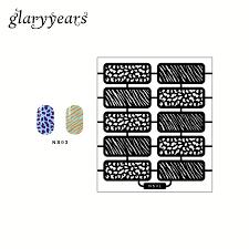 Stripe Templates Wholesale Latest Stripe Image Airbrush Nail Art Manicure Paint Tool
