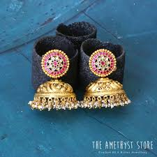 Find Out Where To Shop <b>Hot Selling Classic</b> Antique Jhumkas!