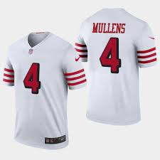 Color Mullens Rush Jersey Legend White Men's Nick 49ers -