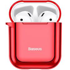 <b>Чехол</b> для Apple AirPods 1/2 <b>Baseus Shining Hook</b> Case - Красный