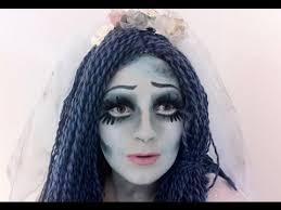 halloween corpse bride makeup tutorial