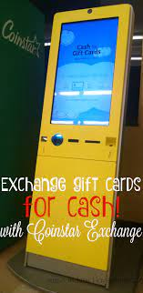 Trading your gift card use a coinstar exchange kiosk. Trade Gift Cards For Cash At Coinstar Exchange Love Jaime