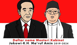 susunan-kabinet-baru-2019-2024-jokowi-maruf-kerja-jilid-ii-purwakarta