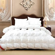 new white goose down quilts comforter bedding setswarm duvet bed quilt fluffy breathable and comfortable wadded